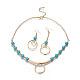 304 Stainless Steel Jewelry Sets(SJEW-G073-02G)-1