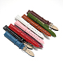 Mixed Color Leather Watch Band(WACH-F017-03)