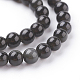 Natural Obsidian Beads Strands(X-G-G099-4mm-24)-3