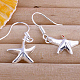 Star High Quality Brass Dangle Earrings(EJEW-BB11913)-1