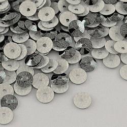 cône perles de paillette forme en plastique, perles de paillettes, darkslategray, 4 mm, trou: 1 mm; environ 240000 pcs / 1000 g(PVC-R002-4mm-HF3005)