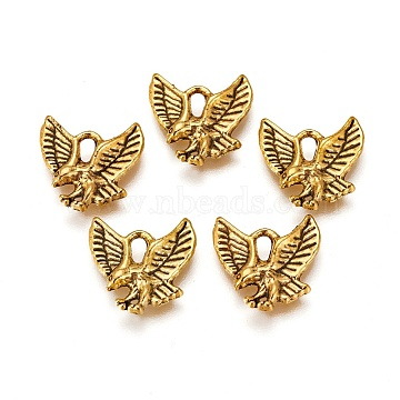 Antique Golden Animal Alloy Charms