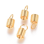 Golden Stainless Steel Coil Cord End(STAS-I120-28E-G)