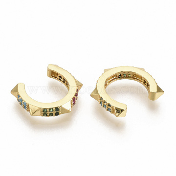 Colorful Cubic Zirconia Earrings