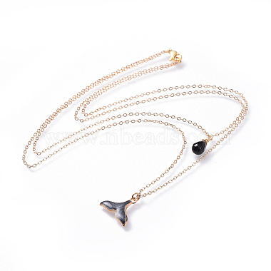 Black Brass Necklaces