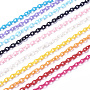 Mixed Color Plastic Cable Chains Chain(X-KY-E007-03)