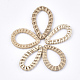 Handmade Reed Cane/Rattan Woven Linking Rings(WOVE-T006-006A)-1