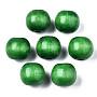 Green Round Wood Beads(WOOD-ZX040-01B-02-LF)