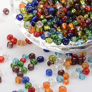 4mm Mixed Color Glass Beads