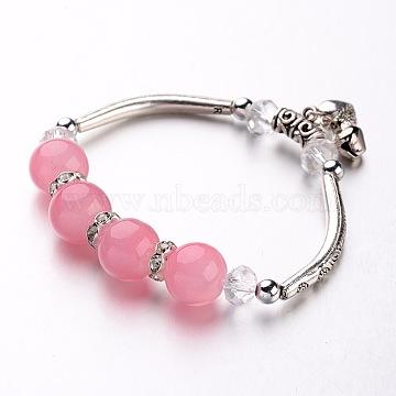 Pink Resin Bracelets