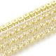 Brass Rhinestone Strass Chains(CHC-Q005-01A-1)-1