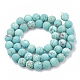 Natural Green Turquoise Beads Strands(G-T106-183)-3