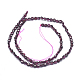 Natural Garnet Beads Strands(G-D0003-A48)-2