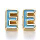 Perles d'émail d'alliage de placage de support(X-ENAM-S122-033E-NR)-1