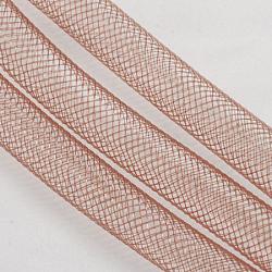 Filet en plastique, saumon foncé, 10mm, 30 mètres(PNT-Q003-10mm-17)