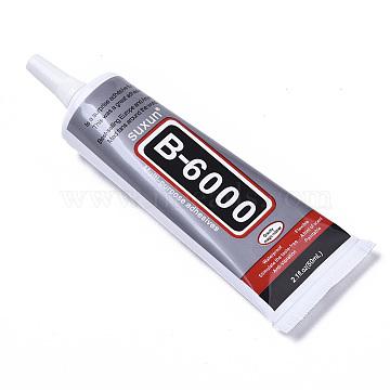 B-6000 Adhesive Glue, with Needle, Gray, 14.1x4.7x2.95cm; 50ml/pc(TOOL-S009-10)