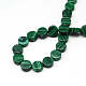 Flat Round Synthetic Malachite Beads Strands(G-R305-08)-2