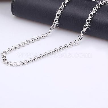 Exquisite Brass Rolo Chain Necklaces(NJEW-EE0002-03-002P)-3