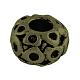 Tibetan Style Alloy European Large Hole Beads Rhinestone Settings(X-TIBEB-7827-AB-NR)-1