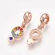 Alloy European Dangle Beads(MPDL-S067-005RG)-2