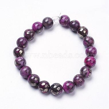 Natural Pyrite Beads Strands(G-K181-02-I03)-2
