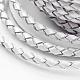 Round Braided Cowhide Cords(WL-L009-01Y)-3
