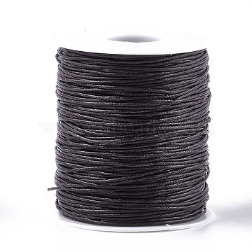 1mm CoconutBrown Waxed Polyester Cord Thread & Cord