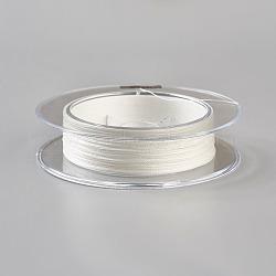 Леска плетеная, 4 оплетка, белые, 0.1 мм; 100 м / рулон, сила: 12 фунт(NWIR-WH0003-01A)