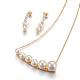 304 Stainless Steel Jewelry Sets(SJEW-F186-02G)-1