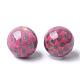 perles acryliques imprimés(X-MACR-T024-55C)-1