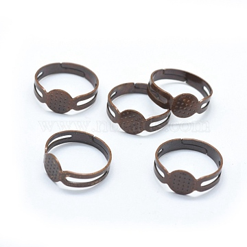 Red Copper Iron Ring Components