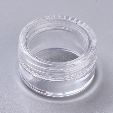 Plastic Bead Storage Containers, Clear, 31x18mm(CON-XCP0004-17)