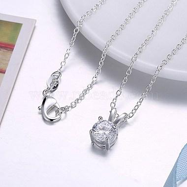 Trendy Brass Pendant Necklaces(NJEW-BB33852)-3
