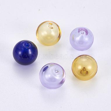 Bouteilles rondes de boule de globe en verre soufflé à la main(LAMP-F007-24)-1