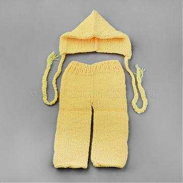 Yellow Clothes Yarn Baby Garment Photography Props