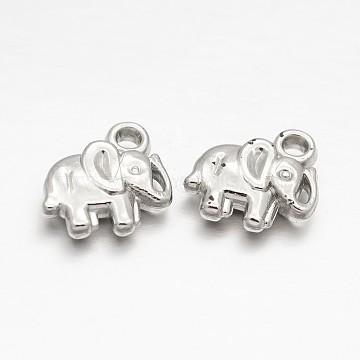 12mm Elephant Acrylic Charms