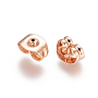 Rose Gold Stainless Steel Ear Nuts(STAS-E484-37B-RG)