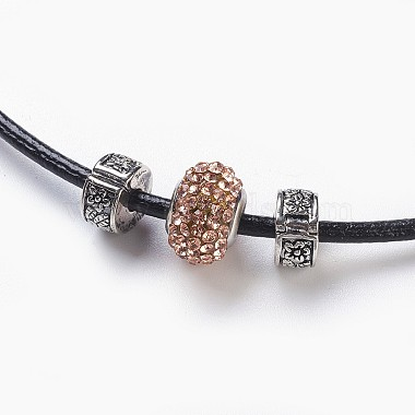 Resin Rhinestone European Beaded Necklaces(NJEW-JN02236-05)-2