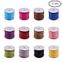 3mm Mixed Color Suede Thread & Cord(LW-PH0002-04-3mm)