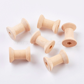 BlanchedAlmond Wood Spools