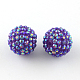 AB-Color Resin Rhinestone Beads(RESI-S315-12x14-06)-1