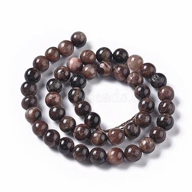 Natural Tiger Eye Beads Strands(G-K301-8mm-01)-2