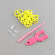 DIY Rubber Loom Bands Refills with Accessories(X-DIY-R011-03)-2