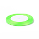 1/4inch(6mm) YellowGreen Satin Ribbon(X-RC6mmY057)-2