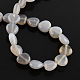Natural Grey Agate Bead Strands(G-R190-20mm-13)-2