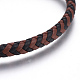 Leather Braided Cord Bracelets(BJEW-E352-29B)-2