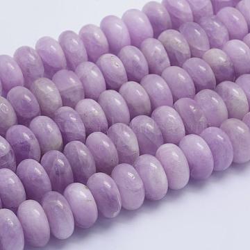 16mm Rondelle Kunzite Beads