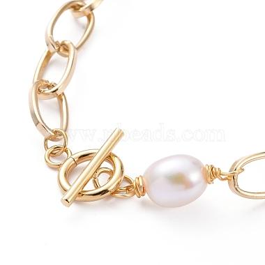 Aluminium Paperclip Chain Necklaces(X-NJEW-JN02865)-2