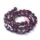 Natural Garnet Beads Strands(G-P433-04)-1