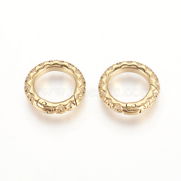 Golden Stainless Steel Clasps